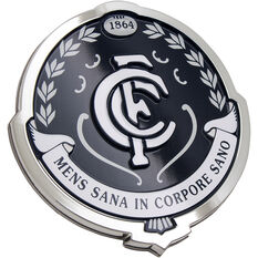 Carlton AFL Supporter Logo - 3D Chrome Finish, , scaau_hi-res
