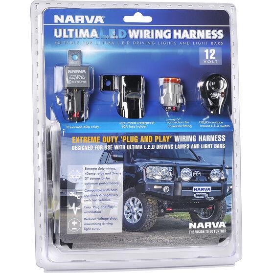 Driving Light Harness Ultima Narva, , scaau_hi-res