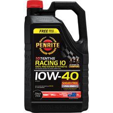 Penrite 10 Tenths Racing 10 Engine Oil - 10W-40 5 Litre, , scaau_hi-res