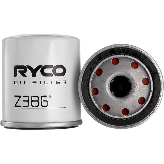 Ryco Oil Filter - Z386, , scaau_hi-res