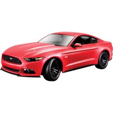Die Cast, Mustang Coupe Red- 1:18 scale model, , scaau_hi-res
