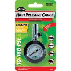 High Pressure Tyre Gauge - 10-160PSI, , scaau_hi-res