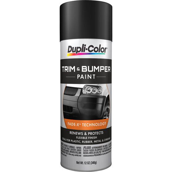 Dupli-Color Bumper Coating Aerosol Paint - Black, 311g, , scaau_hi-res