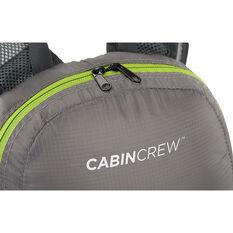 Cabin Crew Glovebox Backpack - 12L Grey/Green, , scaau_hi-res