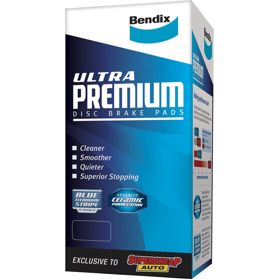 Bendix Ultra Premium Disc Brake Pads - DB1252UP, , scaau_hi-res