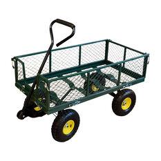 Steel Mesh Garden Cart, , scaau_hi-res