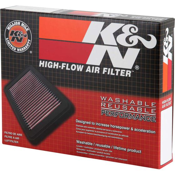K&N Air Filter 33-2944 (Interchangeable with A1619), , scaau_hi-res