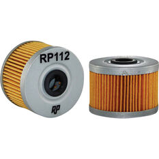 Race Performance Motorcycle Oil Filter RP112, , scaau_hi-res