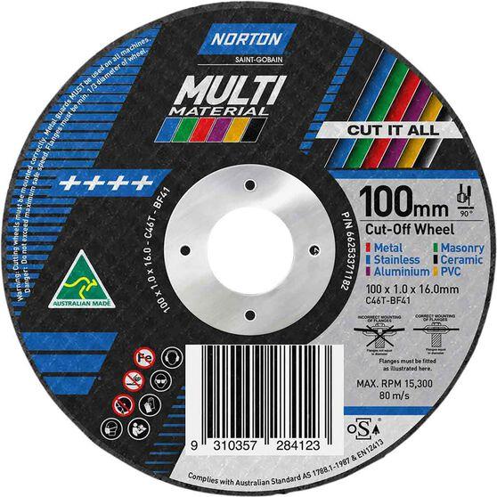 Norton Multi Purpose Grinding Disc 100mm, , scaau_hi-res