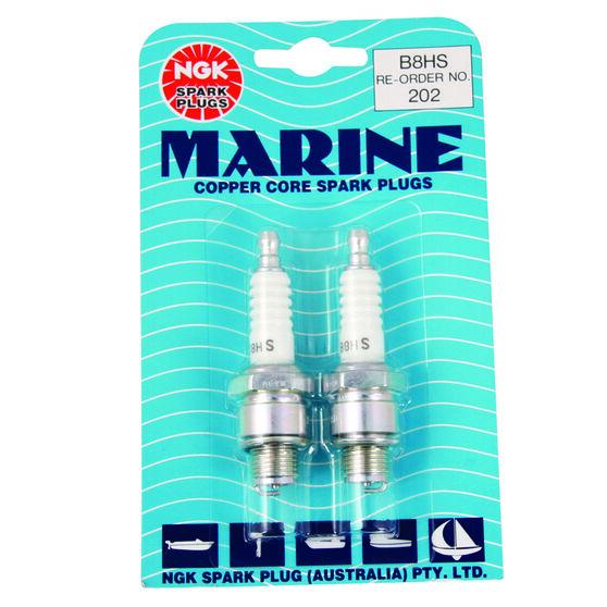 NGK Marine Spark Plug - 202B8HS, 2 Pack, , scaau_hi-res