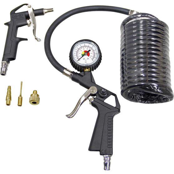 Blackridge Inflator Air Tool Kit - 6 Piece, , scaau_hi-res