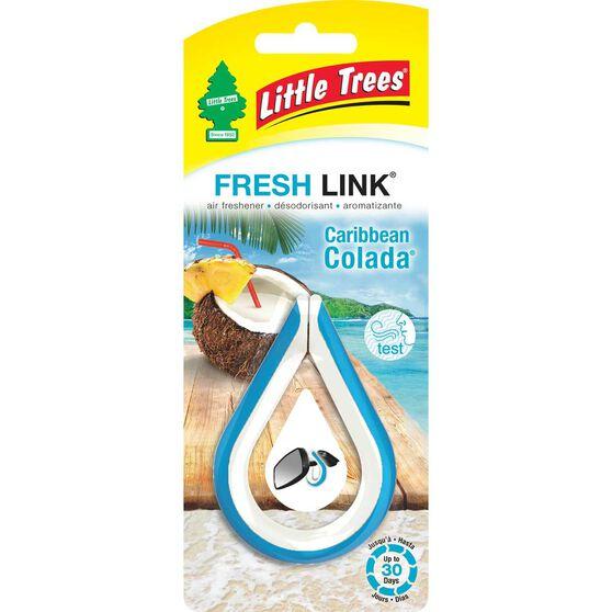 Little Trees Link Air Freshener - Caribbean Colda, , scaau_hi-res