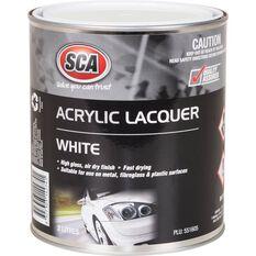 SCA Acrylic Paint - White, 2 Litre, , scaau_hi-res