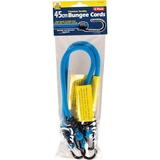 Gripwell Metal Hook Bungee Cord - 45cm, 2 Pack, , scaau_hi-res