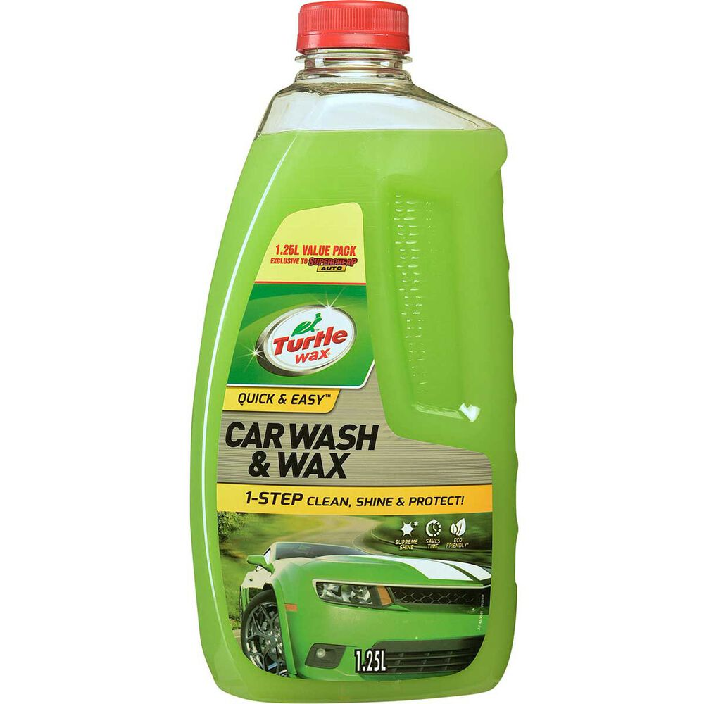 Metro Auto Parts >> Turtle Wax Wash and Wax Exclusive - 1.25 Litre | Supercheap Auto