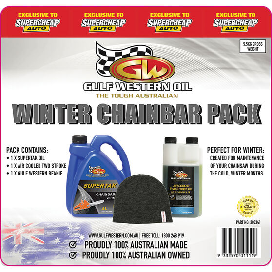 Gulf Western Winter Chainsaw Maintenance Pack, , scaau_hi-res