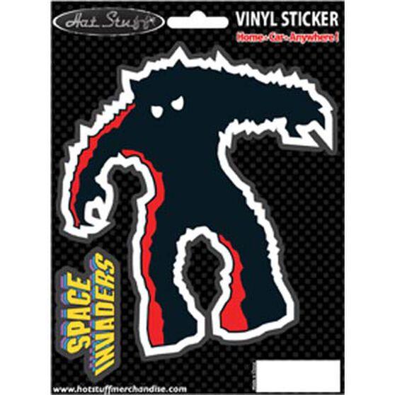 Hot Stuff Sticker - Space Invaders Monster, Vinyl, , scaau_hi-res
