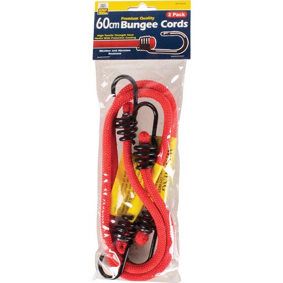 Gripwell Metal Hook Bungee Cord - 60cm, 2 Pack, , scaau_hi-res