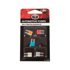 SCA Fuse Micro 2 Blade Assorted, 5pce, , scaau_hi-res