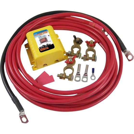 Ridge Ryder Dual Battery Isolator Kit - 12 Volt, , scaau_hi-res