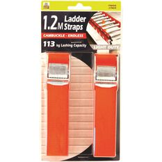 Gripwell Ladder Strap - 1.2m, 113kg, 2 Pack, , scaau_hi-res