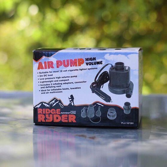 Ridge Ryder High Volume Inflator / Deflator Pump - 12V, , scaau_hi-res