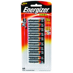 Energizer Max AA Batteries - 10 Pack, , scaau_hi-res