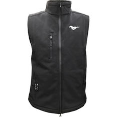 Mustang Men's Vest Black, , scaau_hi-res