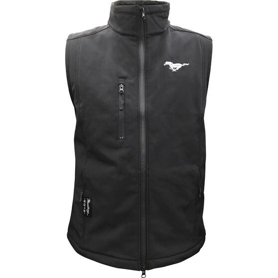 Mustang Men's Vest Black, , scaau_hi-res