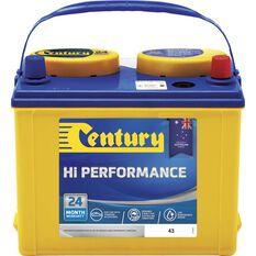 Century Car Battery - 43, 325CCA, , scaau_hi-res