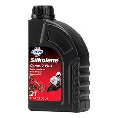 Silkolene Comp 2 Plus Motorcycle Oil - 1 Litre, , scaau_hi-res