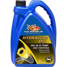 Gulf Western Hi Temp Superdraulic Hydraulic Oil ISO 46 5 Litre, , scaau_hi-res