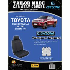 Ilana Cyclone Tailor Made Pack for Toyota Hilux SR Dual Cab 07/15+, , scaau_hi-res