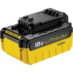 Stanley FatMax Battery Pack, Lithium - 18V, 4.0 Ah, , scaau_hi-res