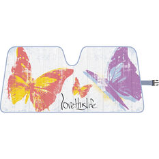 Love This Life Butterfly Sunshade Fashion Accordion Front, , scaau_hi-res