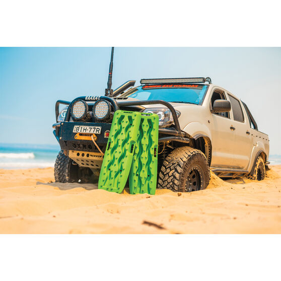 Exitrax Recovery Tracks - Green, 930mm Pair, , scaau_hi-res