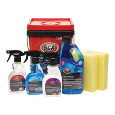 SCA Car Detailing Kit - 7 Piece, , scaau_hi-res