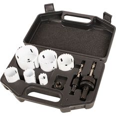 ToolPRO Bi-Metal Hole Saw Set 9 Piece, , scaau_hi-res
