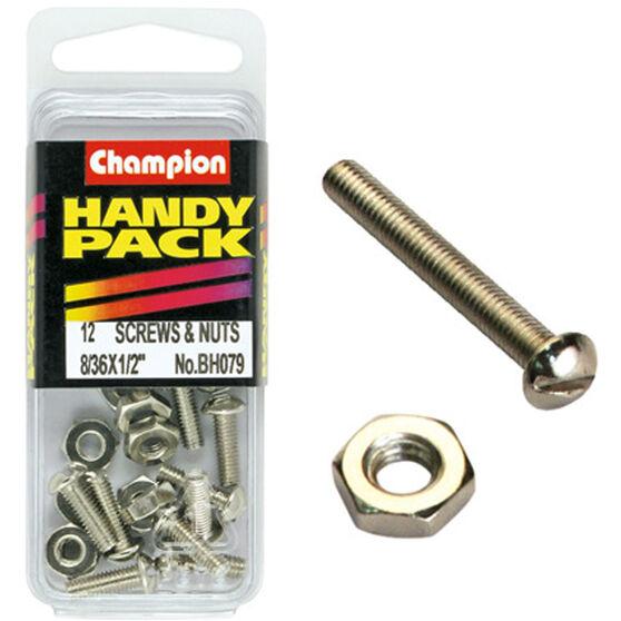 Champion Fine Thread Screws - BH079, , scaau_hi-res