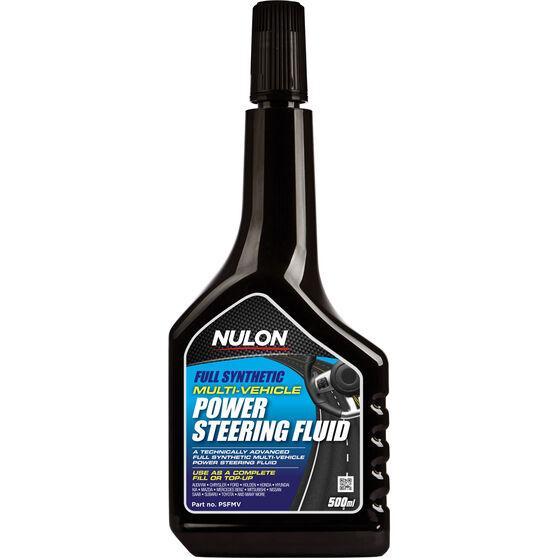 Nulon Multi-Vehicle Power Steering Fluid 500mL, , scaau_hi-res