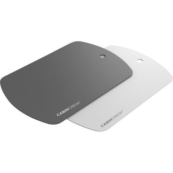 Cabin Crew Magnetic Phone Holder Plates - 2pk Grey and White, , scaau_hi-res