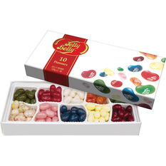 Jelly Belly 10 Assorted Flavours Gift Box 125g, , scaau_hi-res