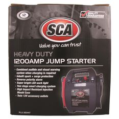 SCA 12V Heavy Duty Jump Starter - 1200 Amp, , scaau_hi-res