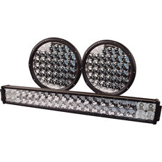 "Driving Light Combo Kit - 9"" Driving Lights, 21"" Driving Light, LED, with Harness, , scaau_hi-res"