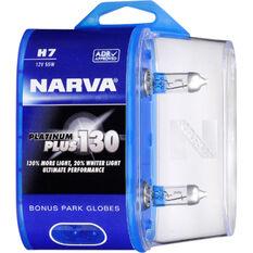 Narva Platinum Plus 130 Headlight Globe H7 12V 55W, , scaau_hi-res