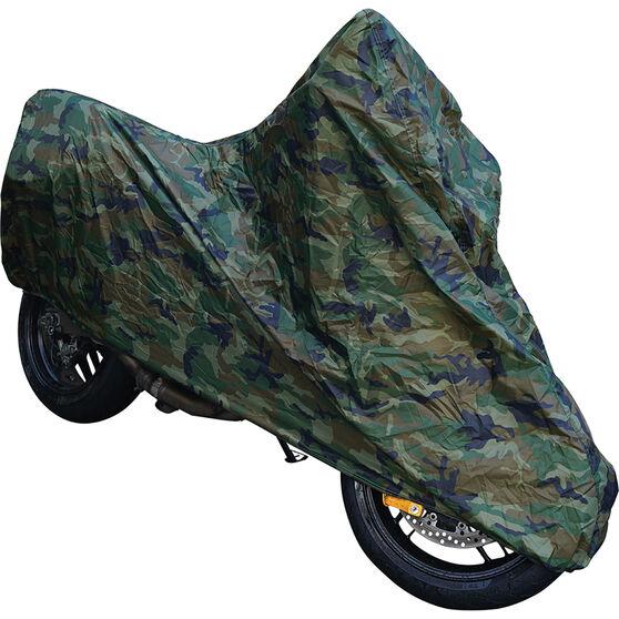Camouflage Motorcycle Cover Medium, , scaau_hi-res