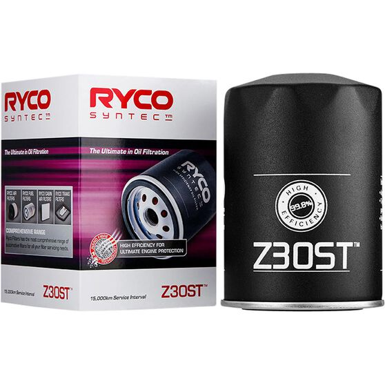 Ryco Syntec Oil Filter (Interchangeable with Z30) - Z30ST, , scaau_hi-res
