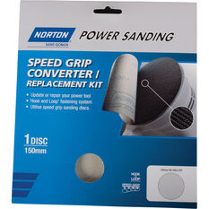 Norton Speed Grip Converter Kit - 1 x 150mm, , scaau_hi-res