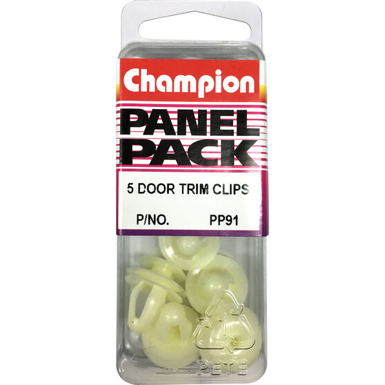 Champion Door Trim Clips - PP91, Panel Pack, , scaau_hi-res