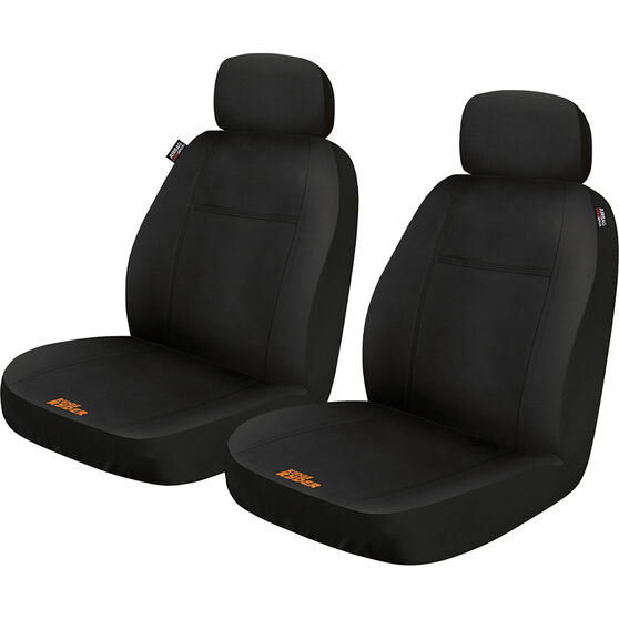 Ridge Ryder Puncture Resistant Seat Cover - Black Adjustable Headrests Size 30 Airbag Compatible, , scaau_hi-res